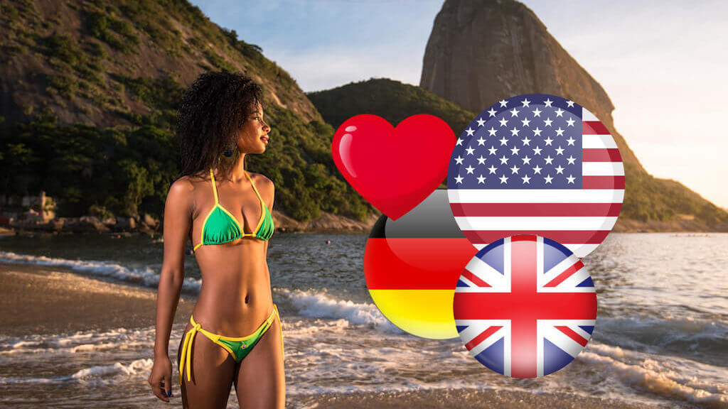 Brazilian Girls and Foreign Men - How does it work-